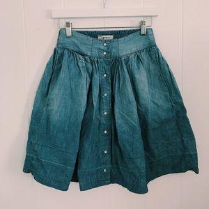Current Elliot Denim Skirt